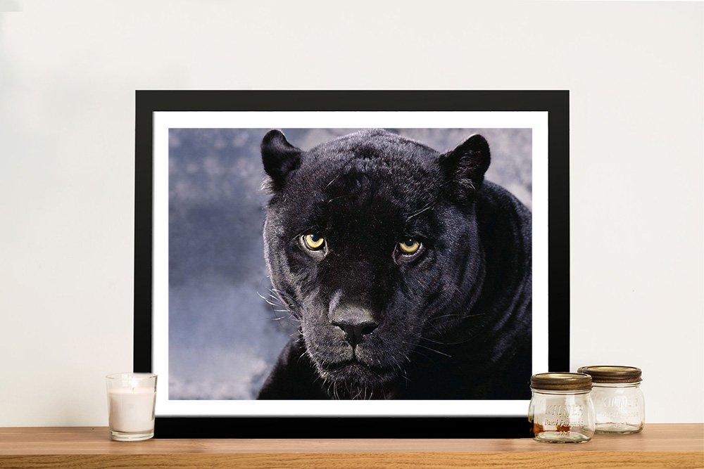 Affordable Framed Black Panther Wall Art AU