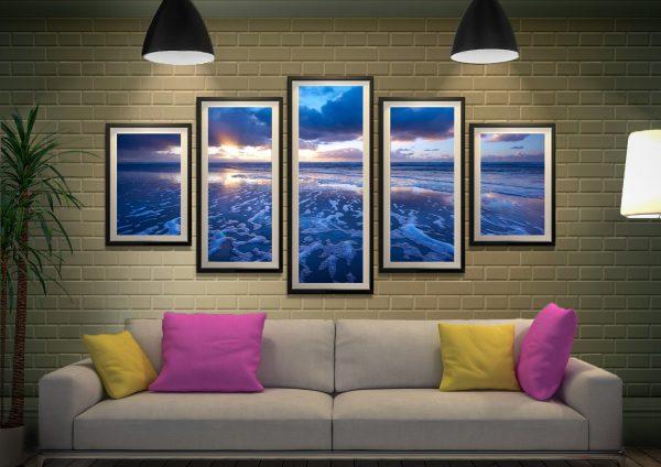 Ocean 5-Piece Canvas Print