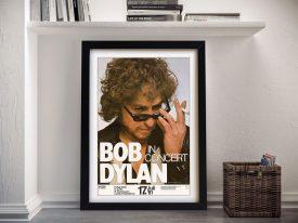 Buy a Bob Dylan Concert Poster Wall Art Print