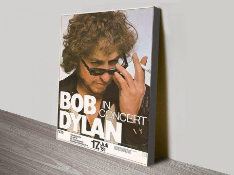 Buy Cheap Bob Dylan Concert Poster Prints AU