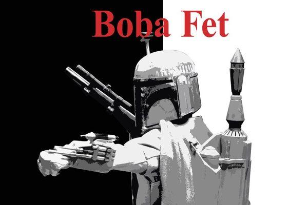 Boba Fett Star Wars Fan Art Picture Canvas Prints