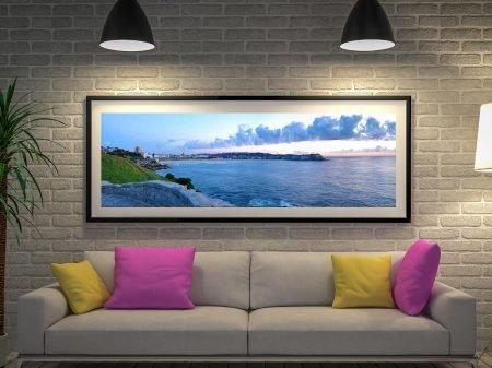 Buy Bondi Beach Panoramic Wall Art