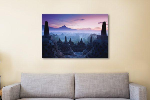 Buy a Borobudur Temple Print Quality Art for Sale