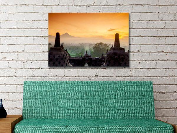 Buy Affordable Borobudur Temple Art AU