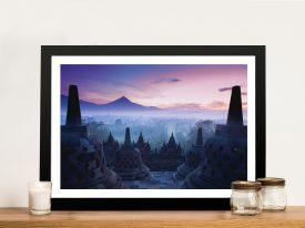 Buy Borobudur Temple Yogyakarta Wall Art