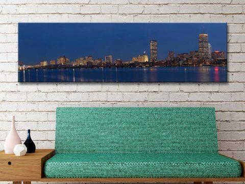 Buy Affordable Boston Skyline Canvas Wall Art