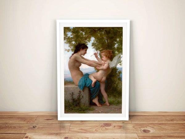 Bouguereau Framed Wall Art