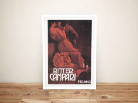Buy Campari Drinks Poster Print Wall Art