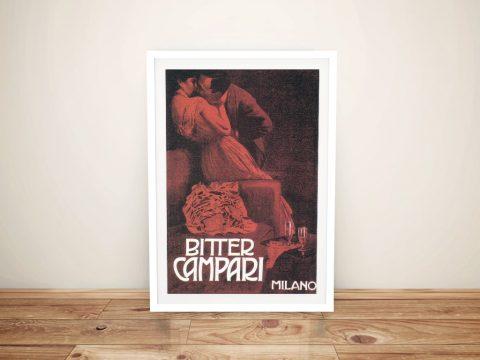 Buy Campari Drinks Poster Print Wall Art