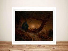 Print of Moonwatchers Classic Wall Art