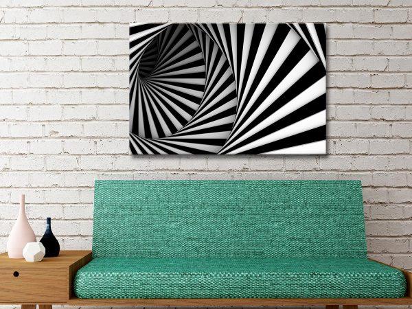 Black and White Photo Canvas Art Melbourne Australia
