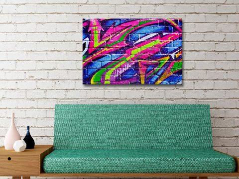 Buy Cheap Graffiti Canvas Wall Art AU