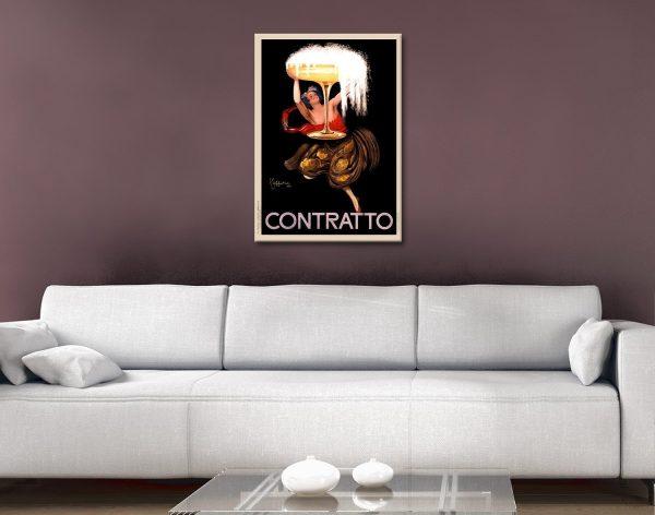 Contratto Canvas Print