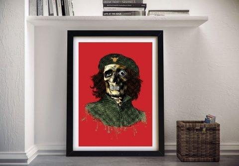 Framed D-Face Graffiti Cliche Art for Sale