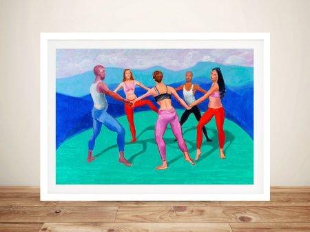 David Hockney Dancers Wall Art Print