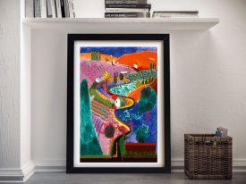 David Hockney Key 12 Vintage Pop Art Print