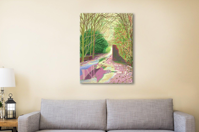 Buy David hockney Canvas Artwork