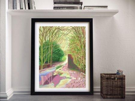 David hockney Framed Wall Art Prints
