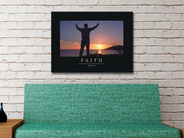 Faith Ready to Hang Art Gift Ideas Online