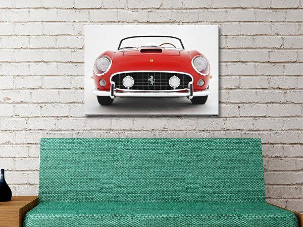 Ferrari 250 GT Spyder Canvas Artwork
