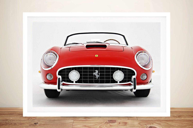 Ferrari 250 GT Spyder Framed Wall Art