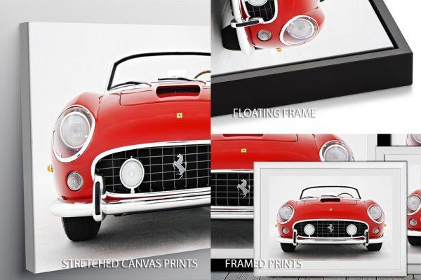 Ferrari 250 GT Spyder Print