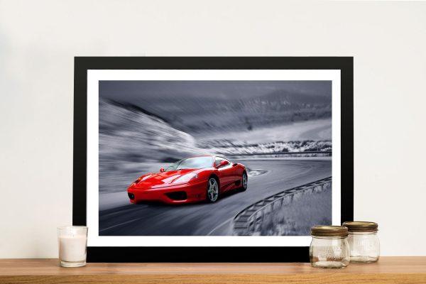 Ferrari Framed Wall Art Sydney