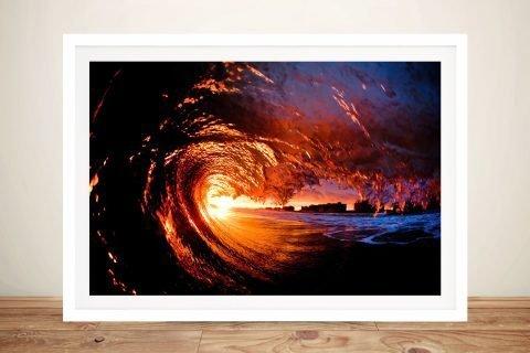Surf Art Framed Print