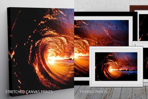 Surf Art Quality Print