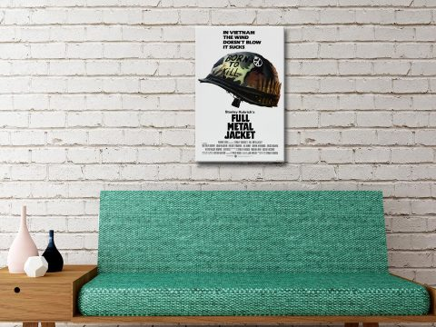 Full Metal Jacket Poster on Canvas