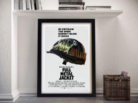 Full Metal Jacket Framed Poster Print Australia