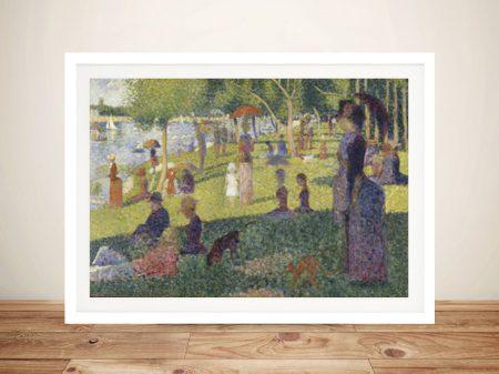 Buy a Framed Classic Print of La Grande Jatte