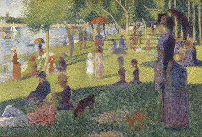 Georges Seurat La Grande Jatte Canvas Poster Picture Print