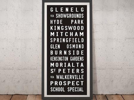 Glenelg Adelaide tram scroll