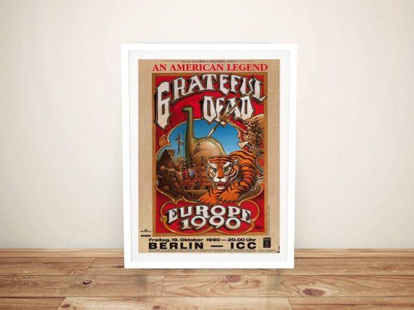 Buy a Grateful Dead 1980 Concert Poster