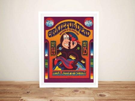 Grateful Dead Poster 3 Framed Wall Art