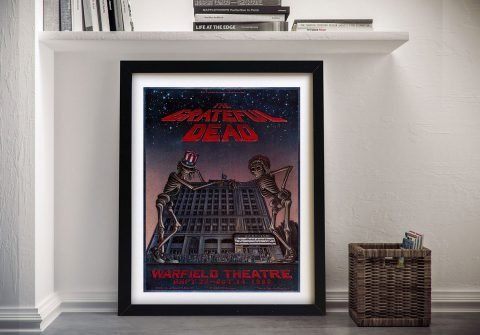 Buy The Grateful Dead Warfield Theatre Wall Art