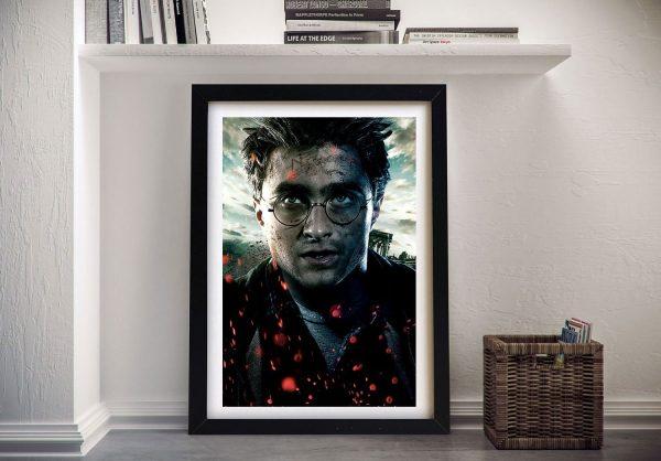 Harry Potter Framed Wall Art Painting