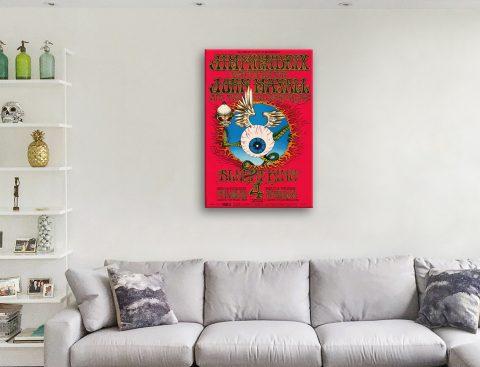 Buy a Hendrix Poster Print Affordable Art AU