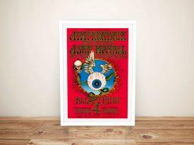 Buy a Print of a Jimi Hendrix Gig Poster