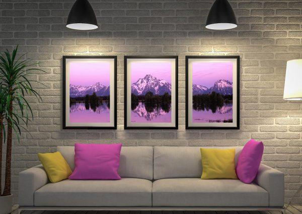 Buy High Dawn Triptych Art Great Gift Ideas AU
