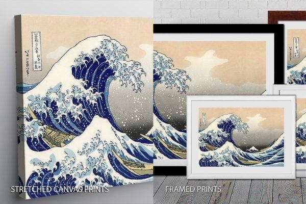 Hokusai Quality Print
