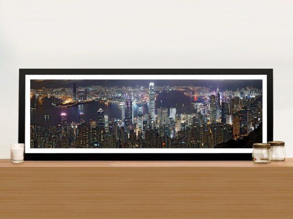 Buy Hong Kong Skyline Art Great Gift Ideas AU