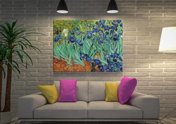 Irises Vincent Van Gogh Canvas Art