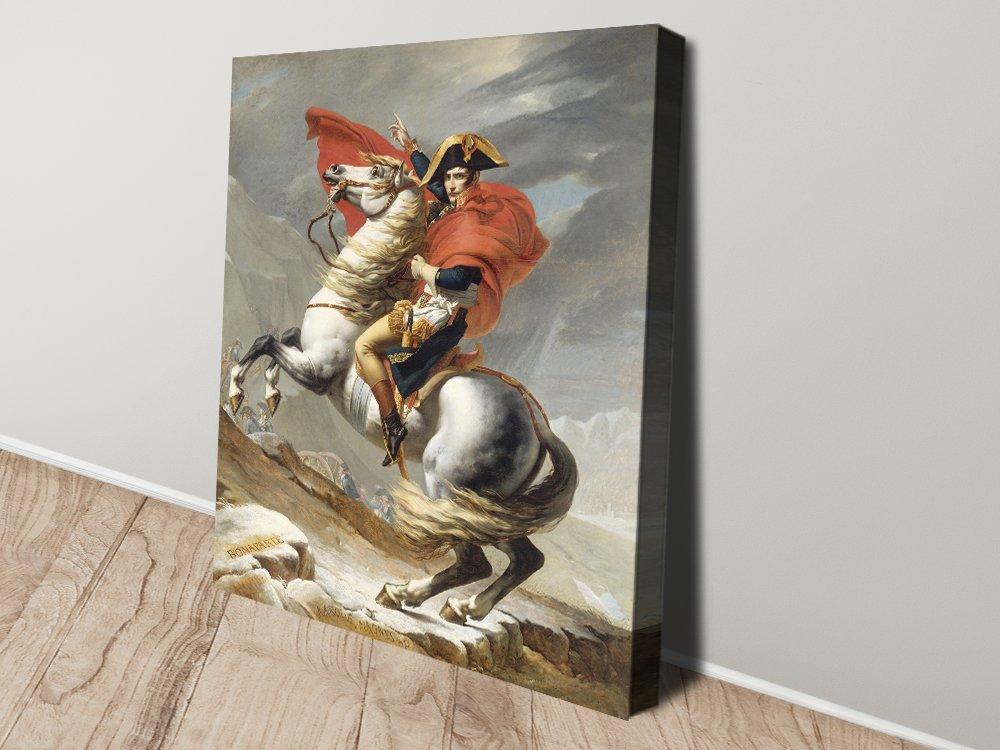 Napoleon Crossing the Alps Classic Wall Art