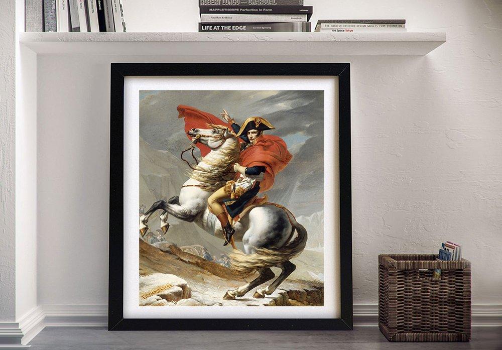 Bonaparte Franchissant Le Grand Saint Bernard