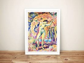 Buy La Dance a Framed Modern Art Print