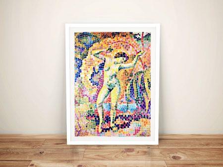 Buy La Dance a Framed Modern Art Print