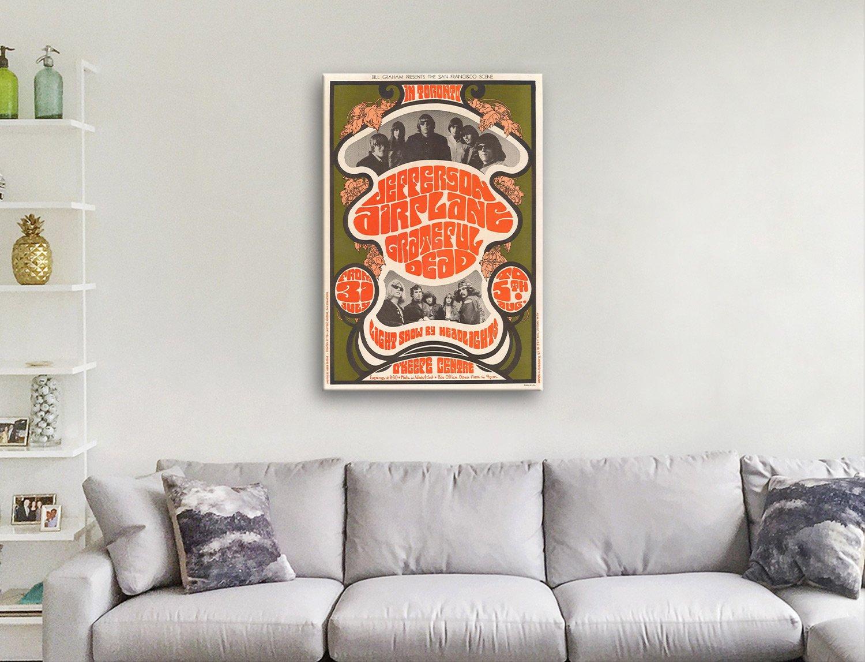 Jefferson Airplane canvas artwork