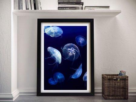 Buy a Jellyfish Abstract Wall Art Print